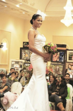 Amanda Forde in Dream Couture at Dreams Wedding Show Toronto